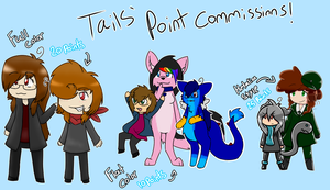 Tails' Point Commissions by Tails-Crossing