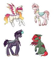 [CLOSED] Sketchy Pone Adopts #2 by Pastel-Circus