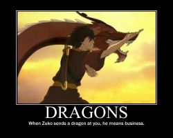 Zuko With Dragons by FayetheFaerie
