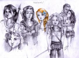 seven heroes by cherryclaires