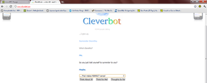 Cleverbot Surrenders to itself by NothingYouCouldLove