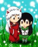 .:. Inuyasha and Kagome .:. by Lonely-Mitsukai