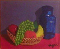 Megan's Still life with fruit by laurichg