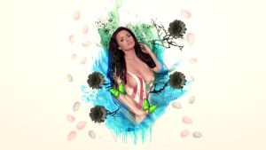 Abigail Ratchford Wallpaper by xavierlokollo