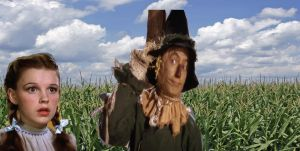 Dorothy Meets The Scarecrow by TheWizardofOzzy
