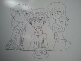 .:Happy Birthday Dan! (sketch):. by XAniKrawlerLazarX