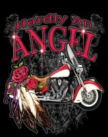 hardly an angel by Tyger-graphics