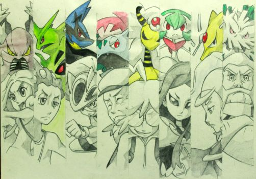 Megas for all by Hu-Gon-By