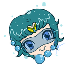 Sailor Mercury- Ami chan cute inner self by SweetAbril