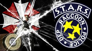 Wesker RE1 wallpaper by The-Red-Jack03