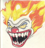 Evil Clown by katunopih