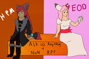 Ask Us Anything and Note RP? by Queer-Robot