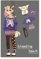 [ CLOSED ] bleeding heart pomeranian by beatAdopts