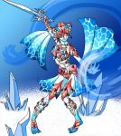 Ruto Red Coral Armour by Humanoid-Magpie