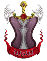 World of Warchicks Crest by Daeshagoddess