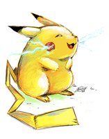 Pikachu by super-tuler