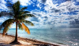 HDR Beach by wolmers