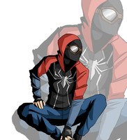 Homemade Spiderman by isansesu0803