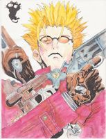 Vash Watercolor by ydoc16