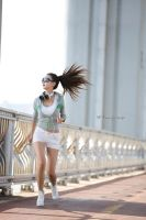 Morning Jogger by ParkLeggyKorean