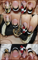 Nail art 119 by ChocolateBlood