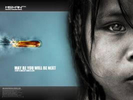 Stop a bullet save a life by malshan