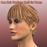 Ben Hair Conform Refit for Dawn by ratorama