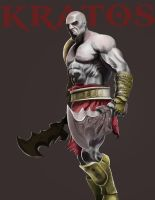 Kratos by bryansayshi