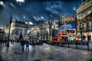 Picadilly Circus by DarkeyeStudio