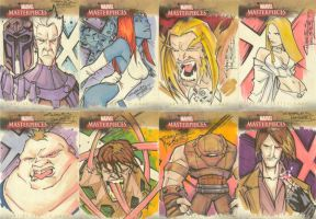 Marvel Masterpieces II set 5 by KidNotorious