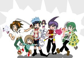 My Favorite Shaman King boys by Doodlz18