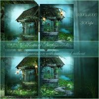 Fairy Wood 3 small pack by moonchild-lj-stock