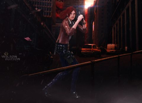 Claire Redfield.  BY: Wilson Burton. by wilsonBurton20