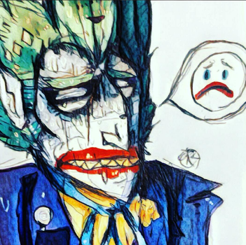 I SAID THE JOKER IS A WANTED MAN by Clowncrime