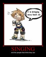 Singing..and those that can't by FireheartTheInferno
