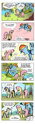 React, Fluttershy... React! by labba94