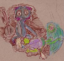 Fraggle Rock: Murray and Brio by AlicornMoonstar