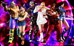 My Tekken Team by LegendaryDragon90