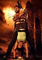Wolverine and Lara 005 by Howlettjames1981
