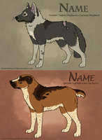 dog design for sale - sold by thelunacy-fringe