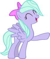 Flitter Laughing Vector by ArtPwny