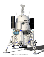 Stock:  Space Lander Module PNG by ArtReferenceSource