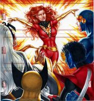 Marvel Bronze Age - Dark Phoenix by Dangerous-Beauty778