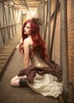 Steam Punk Pin-Up by simplearts