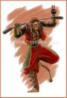 Sun Wukong - Monkey King by ChrisJamesScott