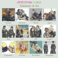 Summary of Art 2012 by xiaoyugaara