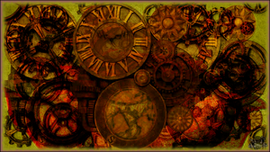 Steampunk Wallpaper by RogueVincent
