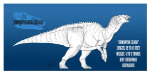 Edmontosaurus regalis by BlueCea