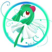 Kirlia by Effier-sxy
