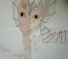 Blee Dragon by TheLadyFaith